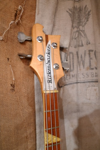 1972 Rickenbacker 4001  Mapleglo, Very Good, Original Hard
