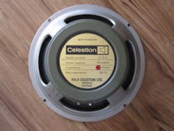 1973 CELESTION MARSHALL GREENBACK G12H30 PULSONIC 014 CONE