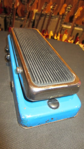 1973 Color Sounds  G.B. Wah Fuzz Swell Blue, Excellent, $495.00
