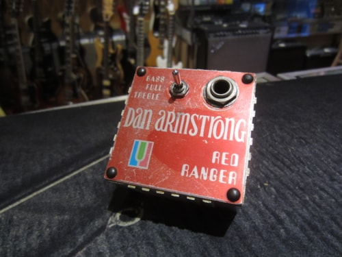 1973 DAN ARMSTRONG Red Ranger Boost/EQ Red, Excellent