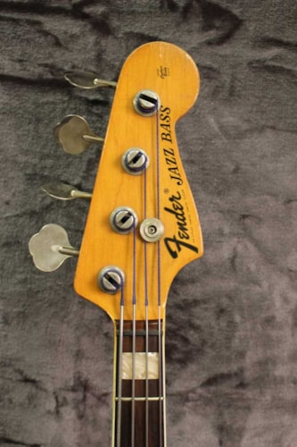 1973 Fender Jazz Bass Mocha, Good, Original Hard case