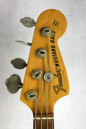 1973 Fender® Mustang® Bass Competition Red, Excellent, Soft, $1,495.00