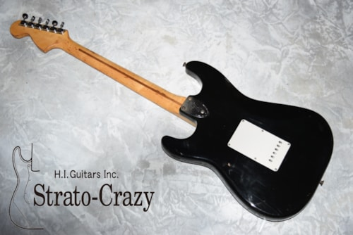 1973 Fender Stratocaster Black > Guitars Electric Solid Body