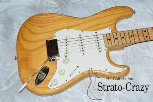 1973 Fender® Stratocaster® Natural, Near Mint, Original Hard, Call For Price!