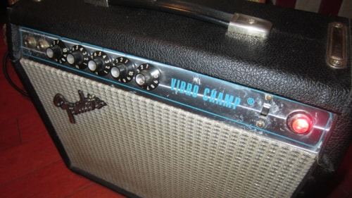 1973 Fender Vibro Champ Silverface