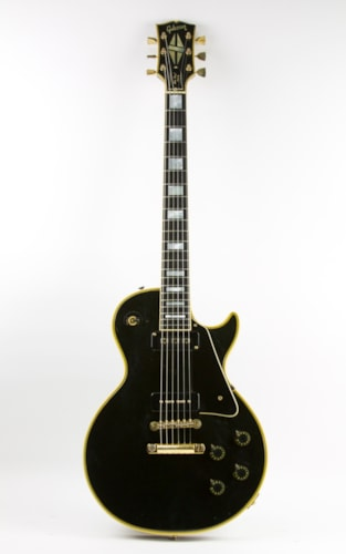 1973 Gibson '54 Reissue Les Paul Custom Limited Edition Ebony, Good, Original Hard, $4,999.00