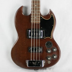 1973 Gibson EB-3 Electric Bass Guitar! Cherry Red Varitone SG Short-Scale!