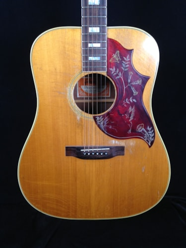 1973 Gibson Humingbird Natural, Very Good, Hard