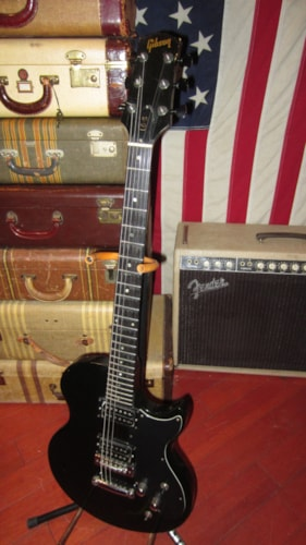 1973 Gibson L-6S Black, Excellent, GigBag, $895.00