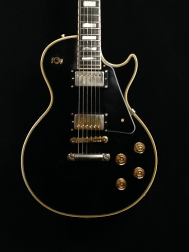 1973 Gibson Les Paul Custom Black, Very Good, Hard