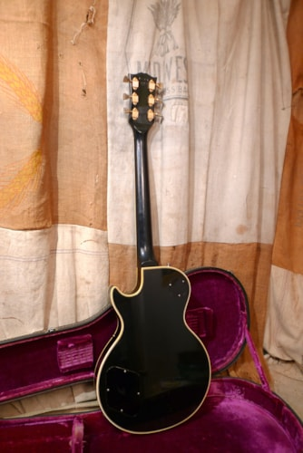 1973 Gibson LES PAUL CUSTOM Black, Very Good, Original Hard, $4,950.00