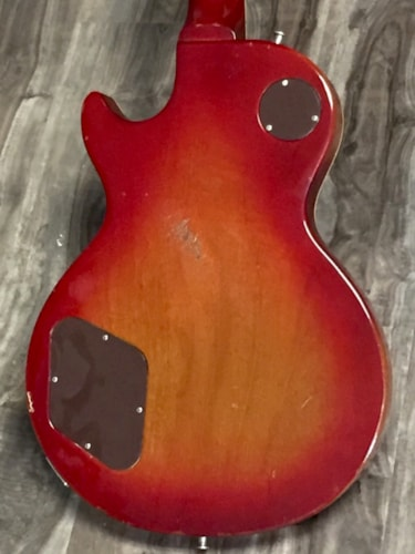 1973 Gibson LES PAUL DELUXE Cherry Burst, Excellent, Original Hard