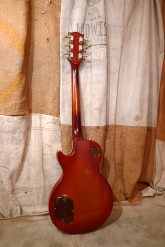 1973 Gibson LES PAUL DELUXE Cherry Sunburst, Very Good, Hard