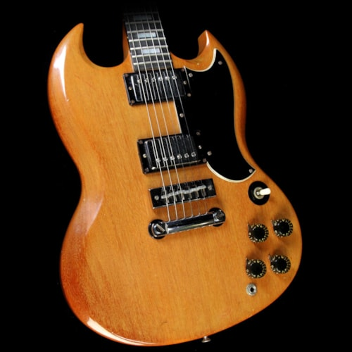 1973 Gibson Used 1973 Gibson SG Standard Electric Guitar Walnut Excellent, $1,949.00