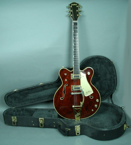 1973 Gretsch Country Gentleman Hollowbody Electric Guitar Vintage USA w/O Red, Excellent, Hard, $2,795.00