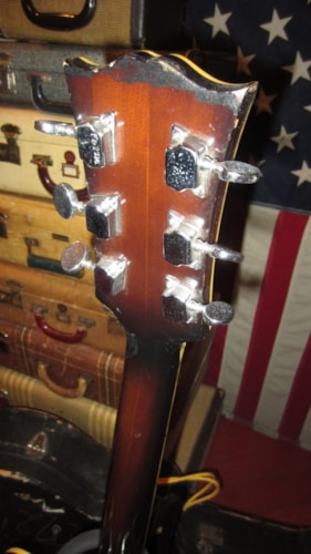 1973 Lyle L-5 Jazz Archtop Guitar copy Sunburst, Excellent, Original Hard