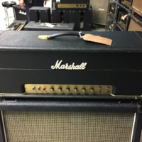 1973 Marshall JMP Lead 50w Head Model #1987 S/A 8030E