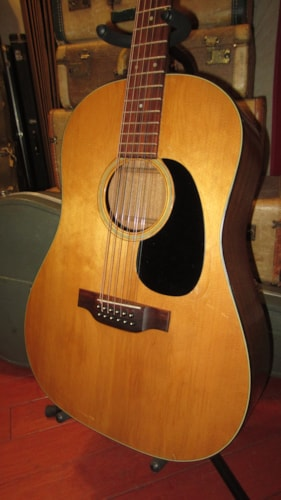 1973 Martin D-12-20 12 String Acoustic  Natural Plays and Sounds Fantastic