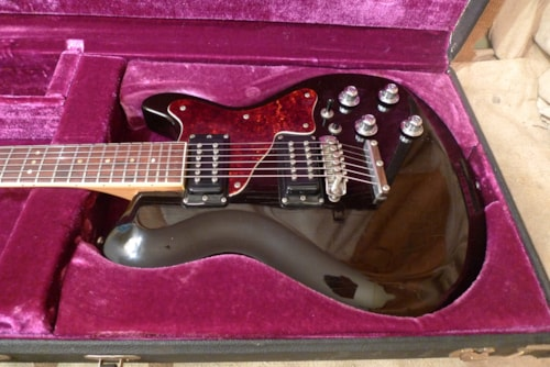 1973 Mosrite Bluesbender Black