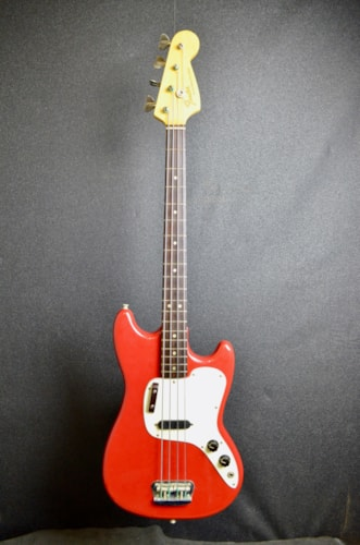1974 Fender Musicmaster Bass Dakota Red