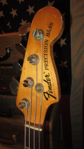 1974 Fender Precision Bass P-Bass Natural