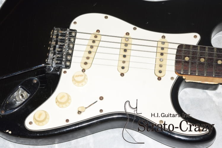 1974 Fender Stratocaster Black, Excellent, Original Hard, Call For Price!