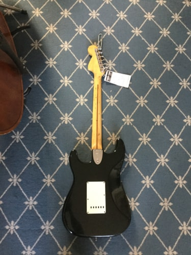 1974 Fender® Stratocaster® Black, Very Good