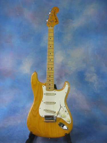 1974 Fender® Stratocaster® Natural, Excellent, Original Hard