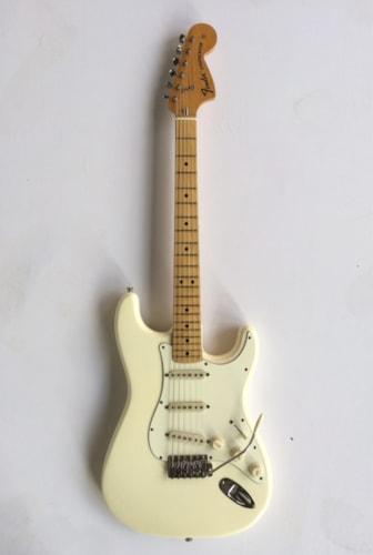 1974 Fender Stratocaster Olympic White, Excellent, Hard