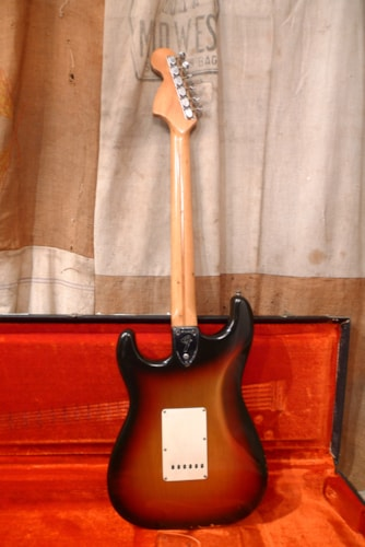 1974 Fender® Stratocaster® Sunburst, Very Good, Original Hard, $3,400.00