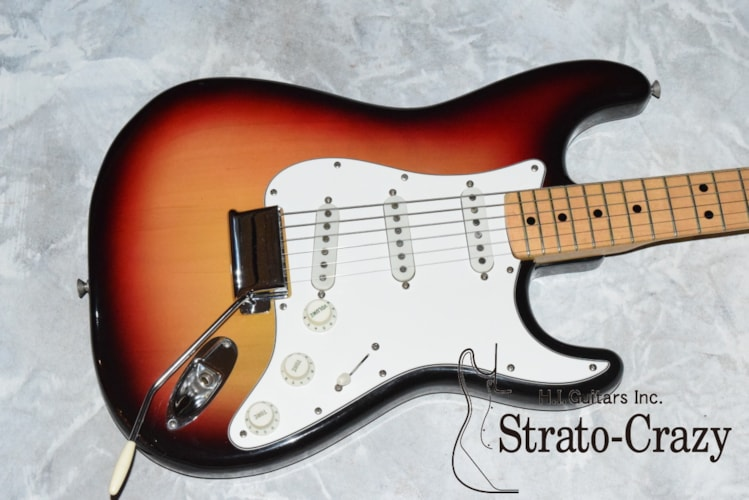1974 Fender® Stratocaster® Sunburst, Mint, Original Hard, Call For Price!
