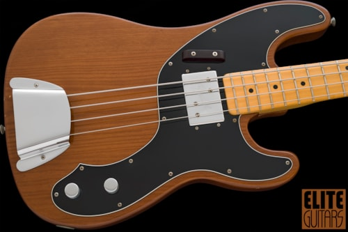 1974 Fender Telecaster Bass Walnut finish option over/Ash, Excellent Condition Hard Shell Case