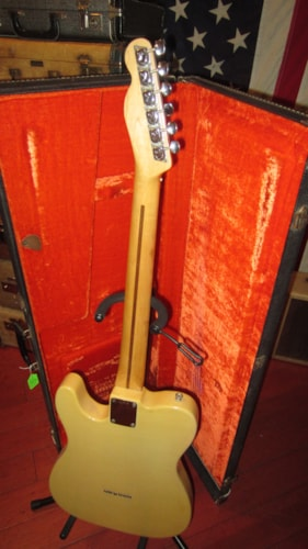 1974 Fender Telecaster Blonde, Excellent, Original Hard