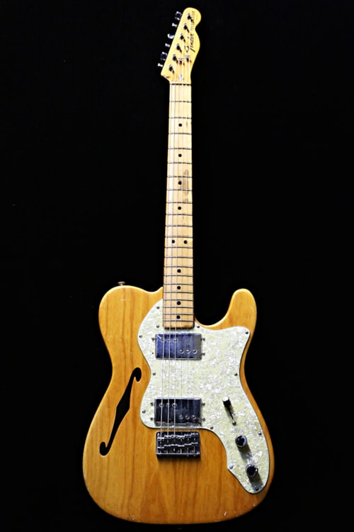 1974 fender telecaster thinline natural guitars electric semi hollow body guitare collection. Black Bedroom Furniture Sets. Home Design Ideas