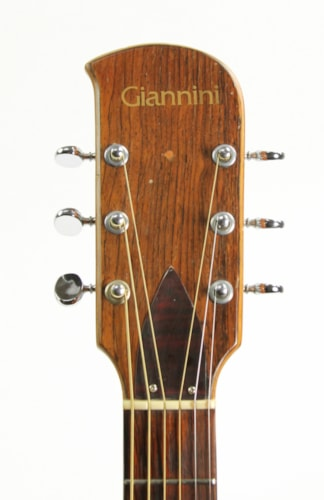 1974 Giannini Craviola AWKS6 Natural, Very Good, Original Hard, $699.00