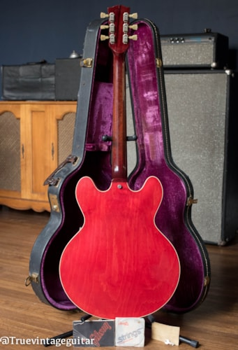 1974 Gibson ES-335TD Cherry, Good, Original Hard, $1.00