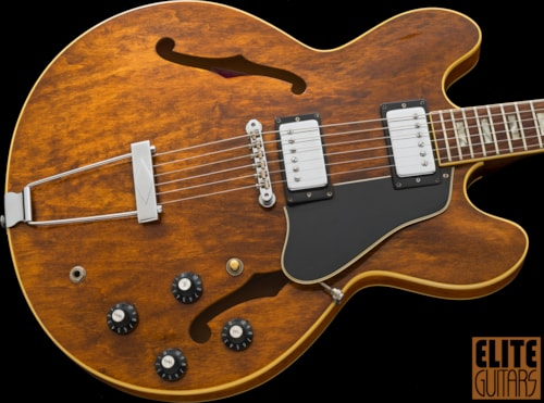 1974 Gibson ES-335TD Walnut, Excellent, Original, Clean and Original with Hard Case