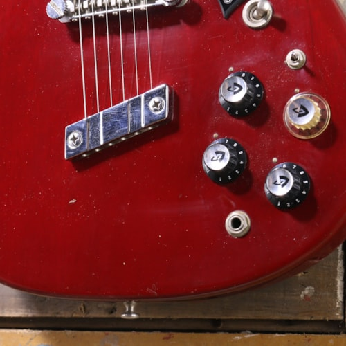 1974 Guild S-100 Cherry Red