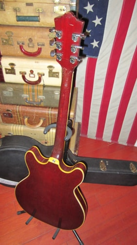 1974 Guild® Starfire™ V Red, Excellent, Hard, $2,195.00