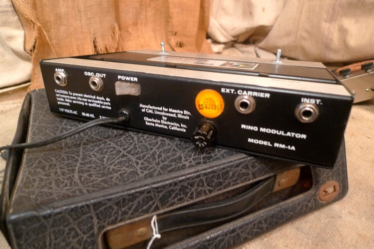 1974 Maestro RM-1A Ring Modulator Excellent, $1,250.00