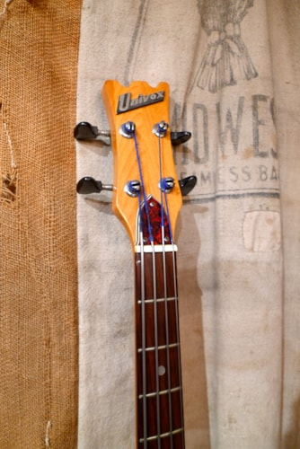 1974 Univox Hi-Flier Sunburst, Good, GigBag, $675.00