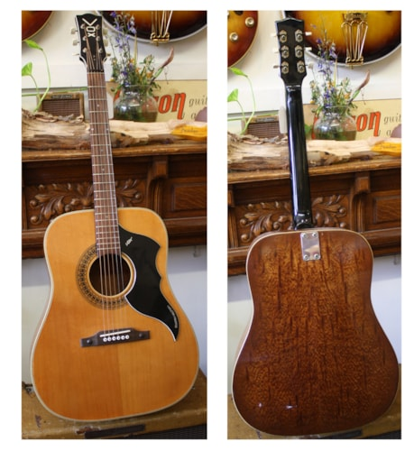 1974 Vox Country Western Dreadnought  Very Good, Soft, $500.00