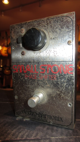 1975 Electro-Harmonix Small Stone Phase Shifter Chrome, Excellent, $249.00