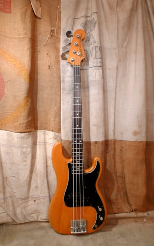 1975 Fender Precision Bass Natural, Very Good, Hard, $2,200.00