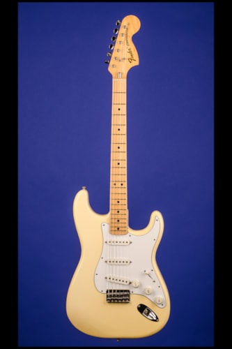 1975 Fender Stratocaster Hardtail Olympic White, Near Mint, Original Hard