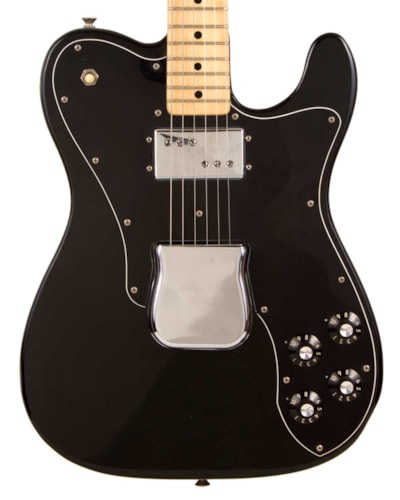 1975 Fender® Telecaster® Custom Black, Excellent, Hard, $2,995.00