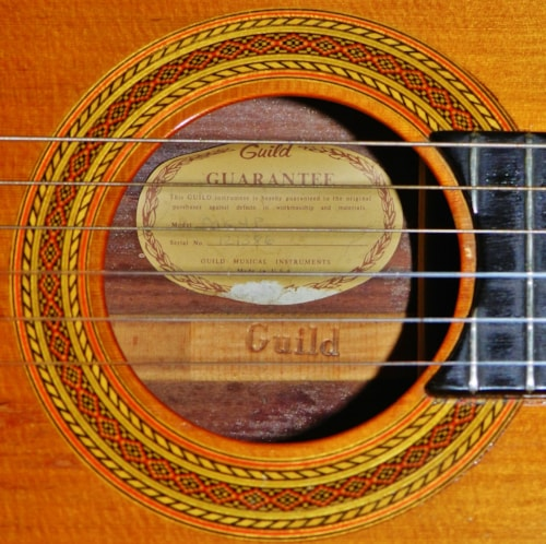 1975 Guild Mark IV Padauk