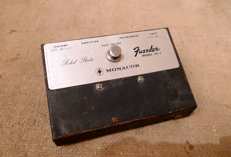 1975 Monacor Fuzzder Very Good, $350.00