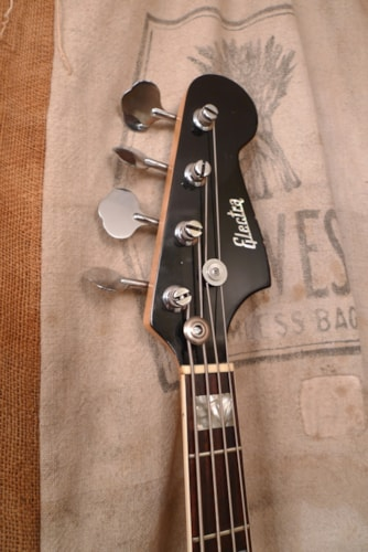 1976 Electra Jazz Bass® Black, Very Good, GigBag