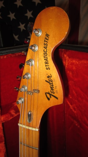 1976 Fender Stratocaster Natural, Excellent, Original Hard, $2,195.00